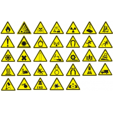 Знаки безопасности и информационные знаки