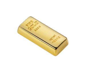 USB-флеш-карта «Слиток золота», 4 Гб
