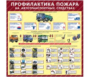 Профилактика пожара на автотранспортных средствах